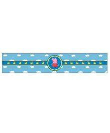 Peppa Pig Theme Wrist Band Pack of 10 - Blue
