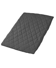 Playette Sheet Quilted Travel Cot Fitted & Padded - Black