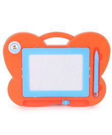 Butterfly Shape Baby Drawing Board And Pen (Color May Vary)