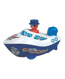 Deo Push N Go Ship Toy - Multi-Color