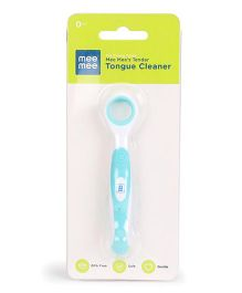 Mee Mee Tongue Cleaner - White Blue