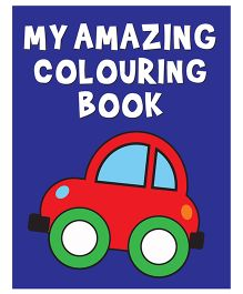 My Amazing Coloring Book - English