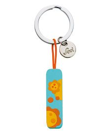 Sevi Wooden I Alphabet Key Chain - Sea Green