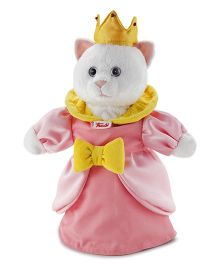 Trudi Hand Puppet Kitty Princess Pink - 30 cm