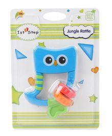 1st Step Jungle Rattle - Blue