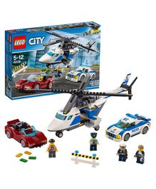 Lego City Police High Speed Chase - Multi Color-294 Pieces-60138