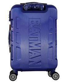 44c5a55ac DC Comics Batman Gamme Embossed Design Luggage Trolley Bag Blue - 20 Inches