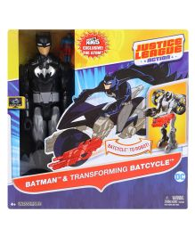 Batman Transforming Batcycle To Robot Black - 28 cm