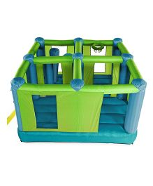 Plum Multi room Bouncer - Green
