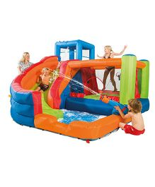 Plum Bouncer and Slide - Multi Color