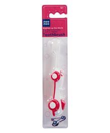 Mee Mee Kids Foldable Toothbrush - Pink And White