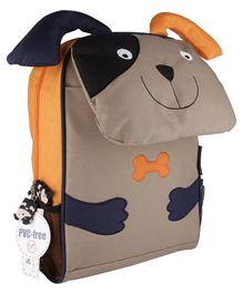 My Milestones Toddler Backpack Dog Brown - 13 inch