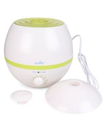 Nuvita Silver Ion Ultrasonic Cool Steam Humidifier - White & Green