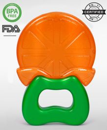 Babyhug Water Filled Orange Teether - Orange