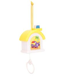 1st Step Musical Pulling Toy - Yellow