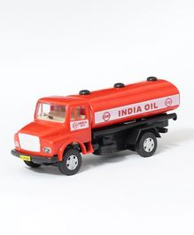 Centy Pull Back Telco Plastic Toy Tanker - Red