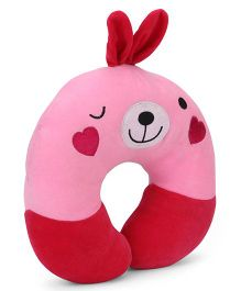 Playtoons Plush Neck Pillow - Pink