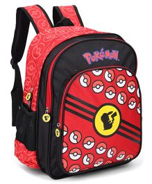 Pokemon Poke Balls Backpack Red - 17 Inches