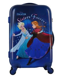 Disney Frozen Kids Luggage - Blue