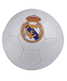 Kidsmojo Real Madrid Football Size 5 - White