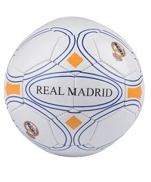 Kidsmojo Real Madrid Print Football Size 5 - White