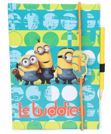 Minions Book With Pencil Yellow - 2 Pieces