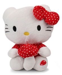 Dimpy Stuff Hello Kitty Soft Toy Red And White - 40 CM