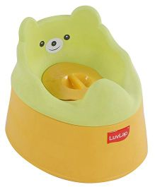 LuvLap Baby Potty Training seat - Yellow & Green