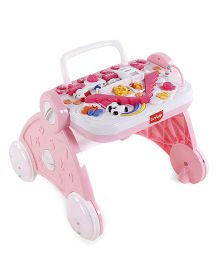 LuvLap Baby Musical Activity Walker - Pink