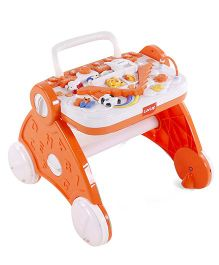 LuvLap Baby Musical Activity Walker - Orange