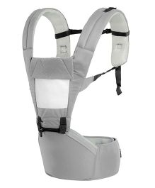 R for Rabbit Upsy Daisy Smart Hip Seat Baby Carrier - Grey Cream