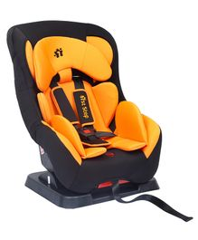 1st Step Convertible Car Seat With 5 Point Safety Harness - Orange