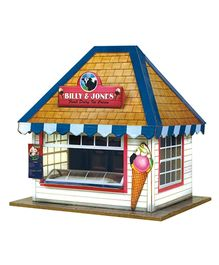 The CityBuilder -  Ice Cream Stall Kit