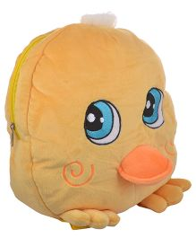 Soft Buddies Plush Soft Toy Bag With Chick Design Yellow - 15 Inches