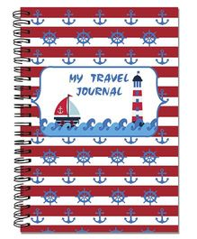 Little Jamun Travel Journal Nautical Theme