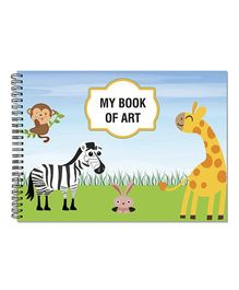Little Jamun Animal Cover Sketchbook - Multi Color