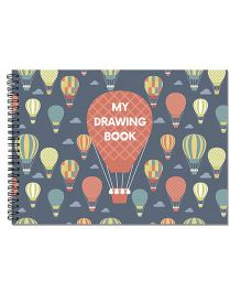 Little Jamun Hot Air Balloon Cover Sketch Book