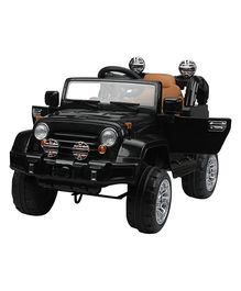 Marktech Battery Operated Ride On Jeep - Black