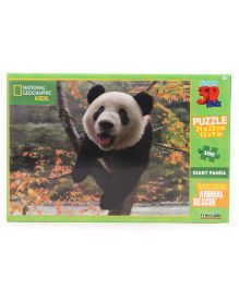 Prime3D Giant Panda Puzzle - 100 Pieces