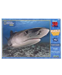 Prime 3D The Ocean Tiger Sharks Puzzle - 100 Pieces