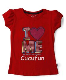 Cucu Fun Short Sleeves Top