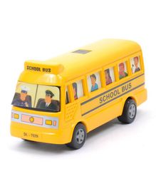 Centy Pullback Mini Bus - Yellow