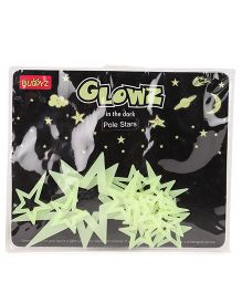 Buddyz Glowz Pole Stars - 18 Pieces