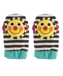 Sassy Smiley Face Foot Socks Rattle