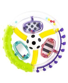 Sassy Wonder Wheel Ring Rattle (Color May Vary)