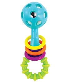 Sassy Peek A Boo Beads Rattle - Multicolor