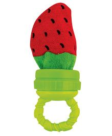 Sassy Strawberry Teether - Red Green