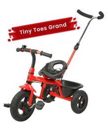 R for Rabbit Tiny Toes Grand The Smart Plug N Play Tricycle - Red