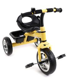 R for Rabbit Tiny Toes The Smart Plug And Play Tricycle - Yellow Black
