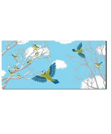 Ultra Bird Printed Envelopes With Special 3D Effects Pack of 5 - Multicolor